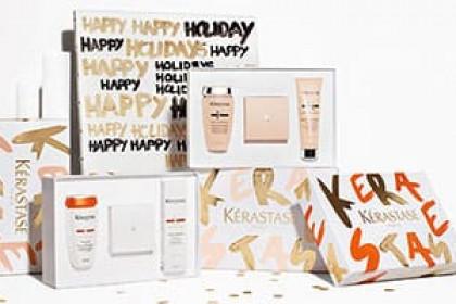 le plaisir d'offrir un  cadeau utile de soins sensoriels pour tous types de cheveux Pour prendre de l'avance sur votre liste de cadeaux de Noel et offrir à vos proches un cadeau bien-etre pensez a Kerastase